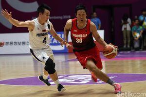 Tim Basket Indonesia Dikalahkan Mongolia