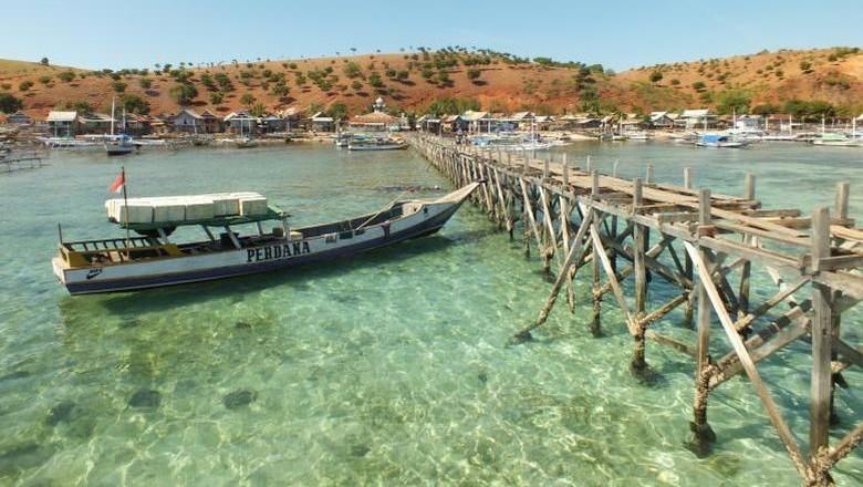 Perahu wisata di Pulau Komodo (Rafiff/dTraveler)