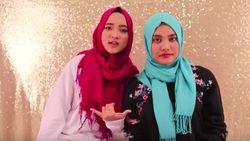 Aurel Hermansyah Tutorial Hijab Bareng Nissa Sabyan, Ini Hasilnya