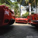 Ferrari Klasik Ketahuan Ngumpul di Jakarta