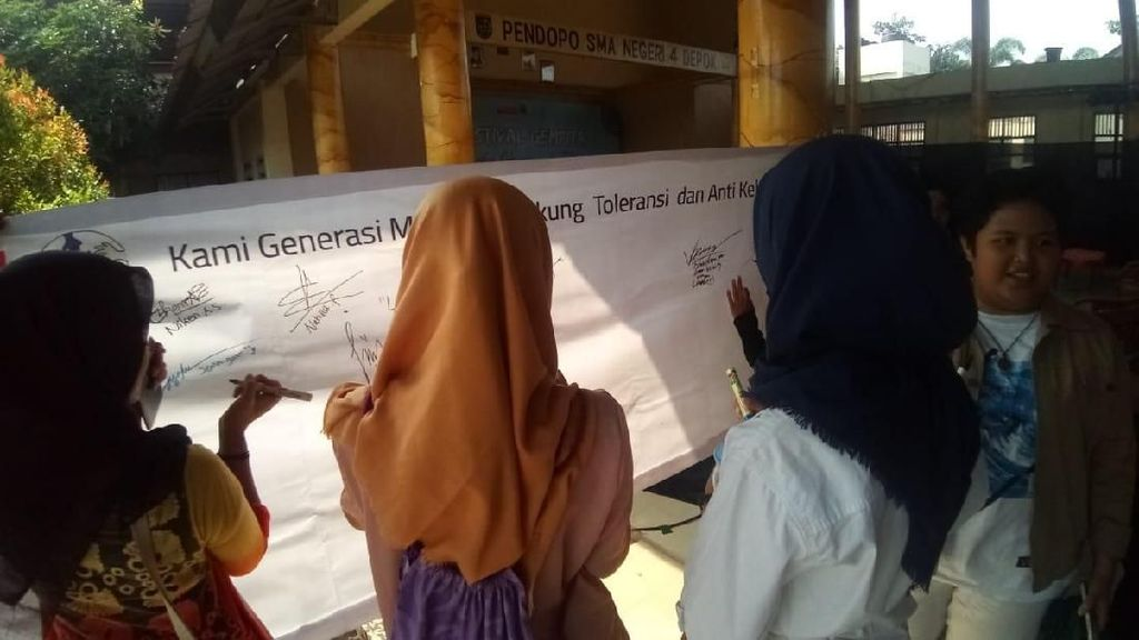 KPAI Ajak Siswa SMA se-Depok Stop bullying