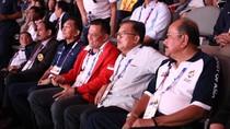 Potret Akrab JK-Gatot Tonton Pertandingan Asian Games di GBK