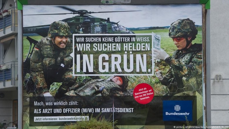 Kekurangan Personel, Militer Jerman Sasar Remaja di Bawah 18 Tahun