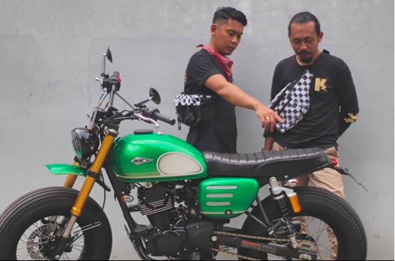 Motor gres Jokowi. Foto: Screenshot Instagram atenx_andiakbar