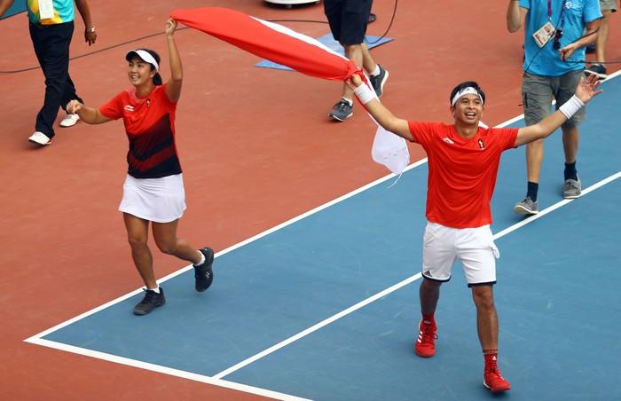 Indonesia menambah emas di hari ketujuh Asian Games 2018. Foto: Rachman Haryanto/detikSport