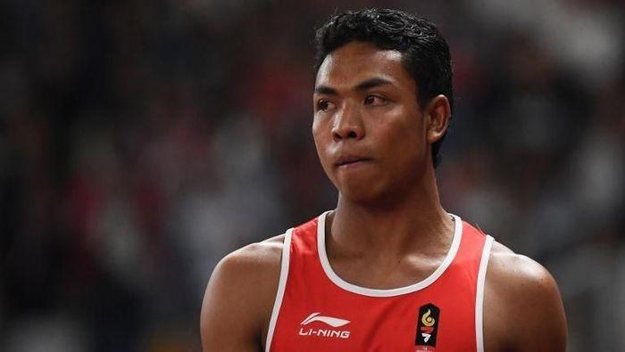 Lalu M Zohri kini fokus persiapan UN setelah juara di Malaysia (Jewel Samad/AFP Photo)