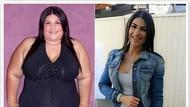 Takjub! Transformasi Wanita yang Dulu Selalu Pakai Baju Hamil Kini Langsing
