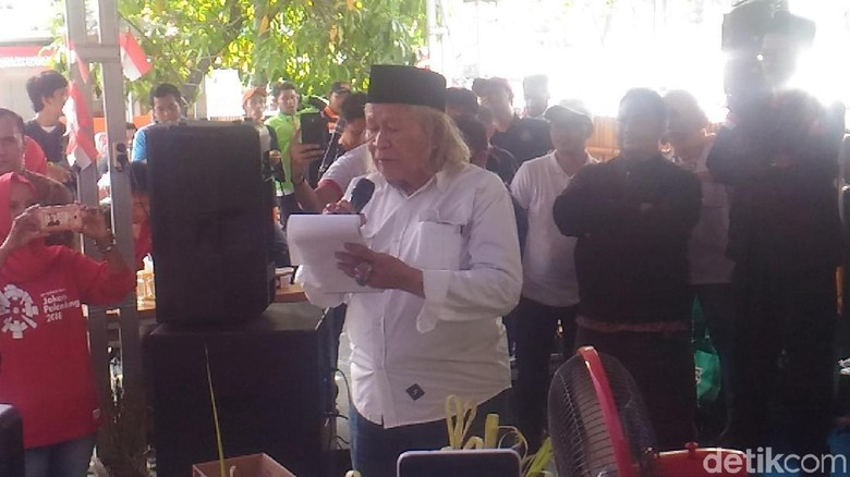 Puisi #2019GantiPresiden Dilelang Rp 1,5 Juta untuk Korban Gempa NTB