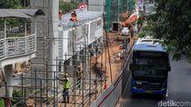 Pembangunan Halte Busway Pengganti di Rasuna Said