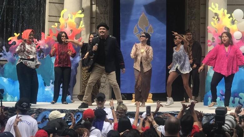 Musik Dangdut Meriahkan Indonesian Street Festival di New York