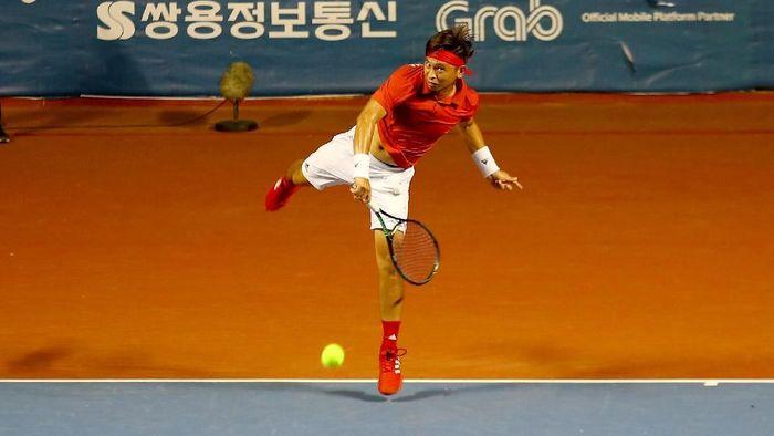 Christopher Rungkat akan jadi andalan emas Indonesia di cabang tenis SEA Games 2019 (Instagram/christorungkat)