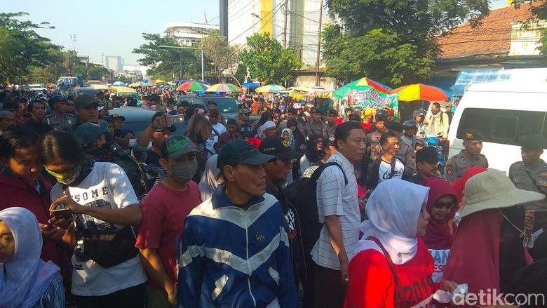 Dibubarkan, Massa #2019GantiPresiden Ultimatum Polri