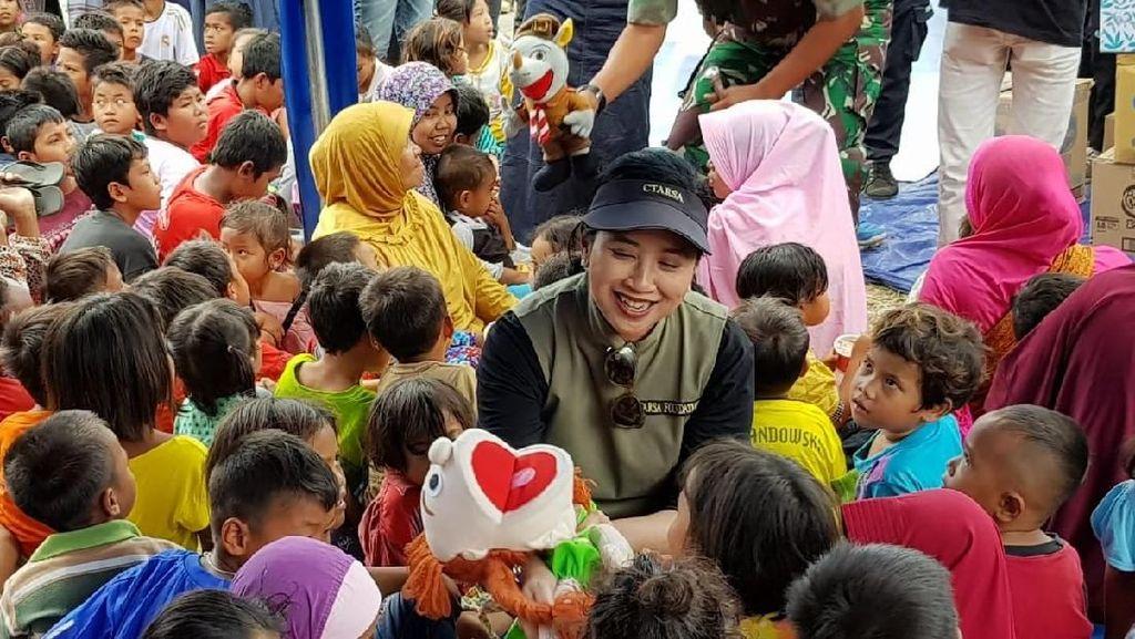 CT ARSA Salurkan Bantuan dan Komitmen Pulihkan Korban Gempa Lombok