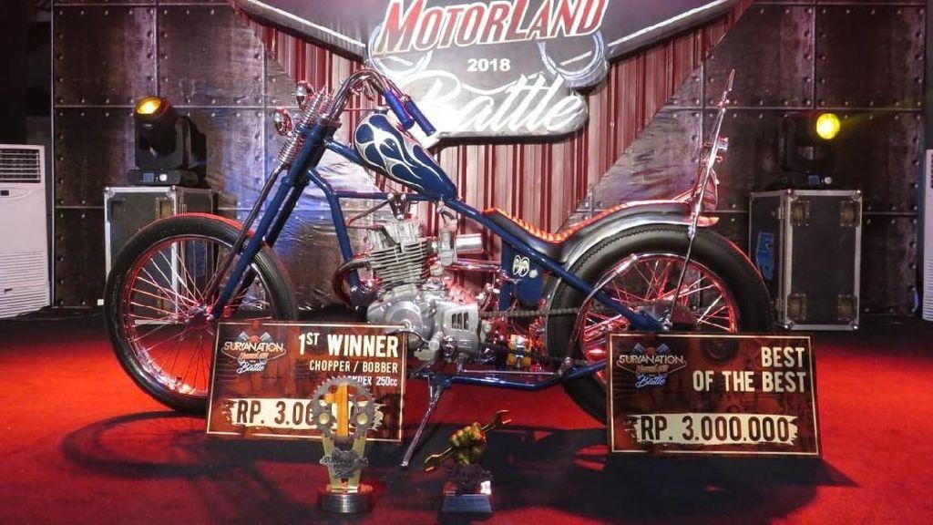 Jokowi Effect, Bali Jadi Surganya Motor Chopper