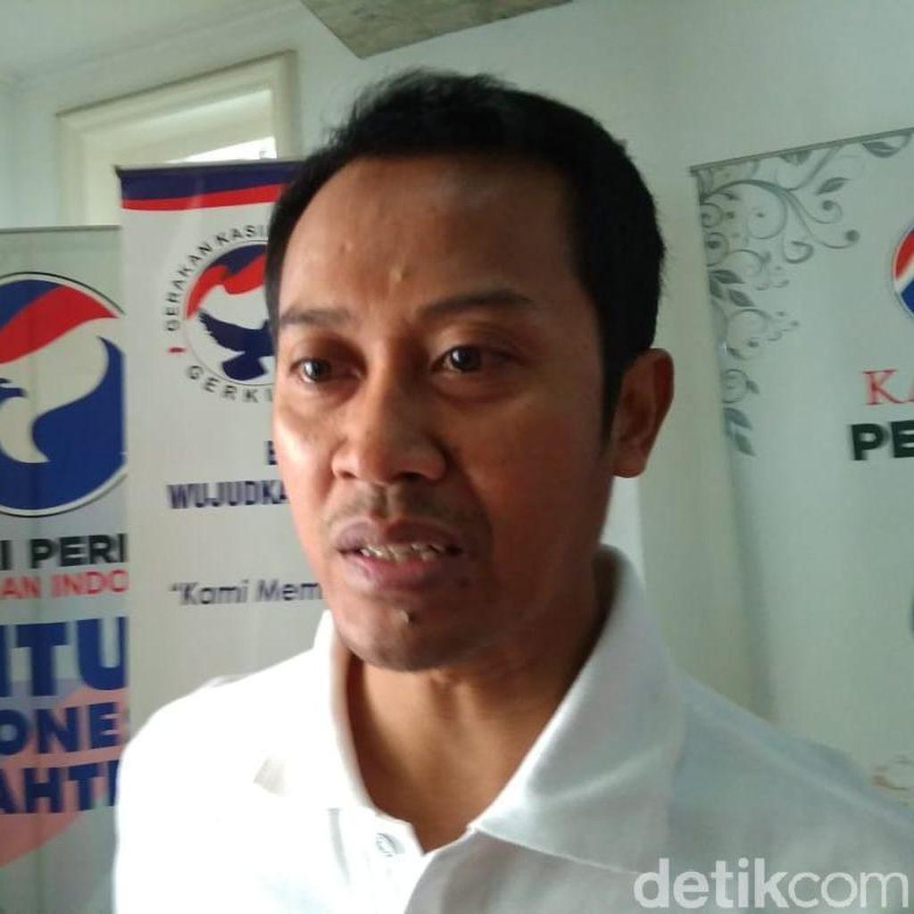 Perindo: Prabowo Boleh Ganti Kostum Tapi Jangan Tiru Jokowi