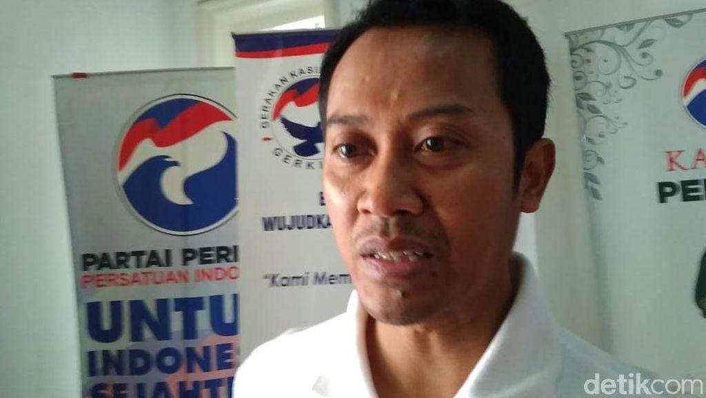Ketua DPW Sumbar Mundur, Perindo: Dia Sudah Diganti di 2018