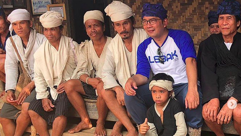 Saat Ridwan Kamil Memuji Suku Baduy
