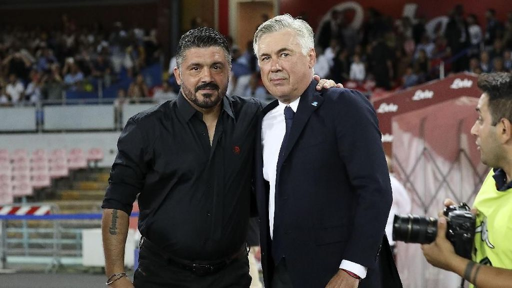 Napoli Akan Gantikan Ancelotti dengan Gattuso Pekan Ini?