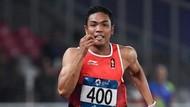 Lalu Muhammad Zohri Lolos ke Final 100 Meter Putra Asian Games 2018