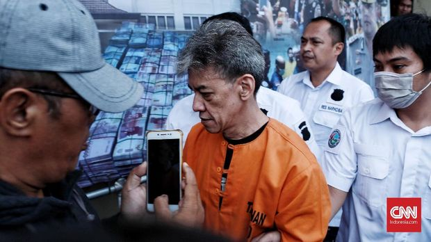 Fariz RM ditangkap polisi atas kasus narkoba pada Agustus 2018.