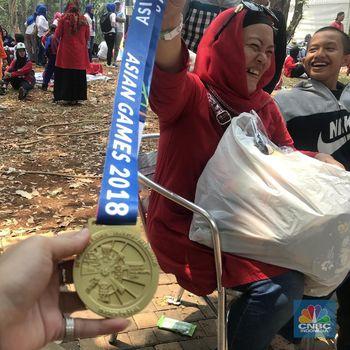 Habis Jutaan Rupiah Demi Borong Suvenir Asian Games