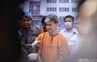 Fariz RM di Polres Jakarta Utara.
