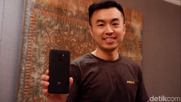 Alvin Tse, Country Director Xiaomi Indonesia and Head of Poco Global.