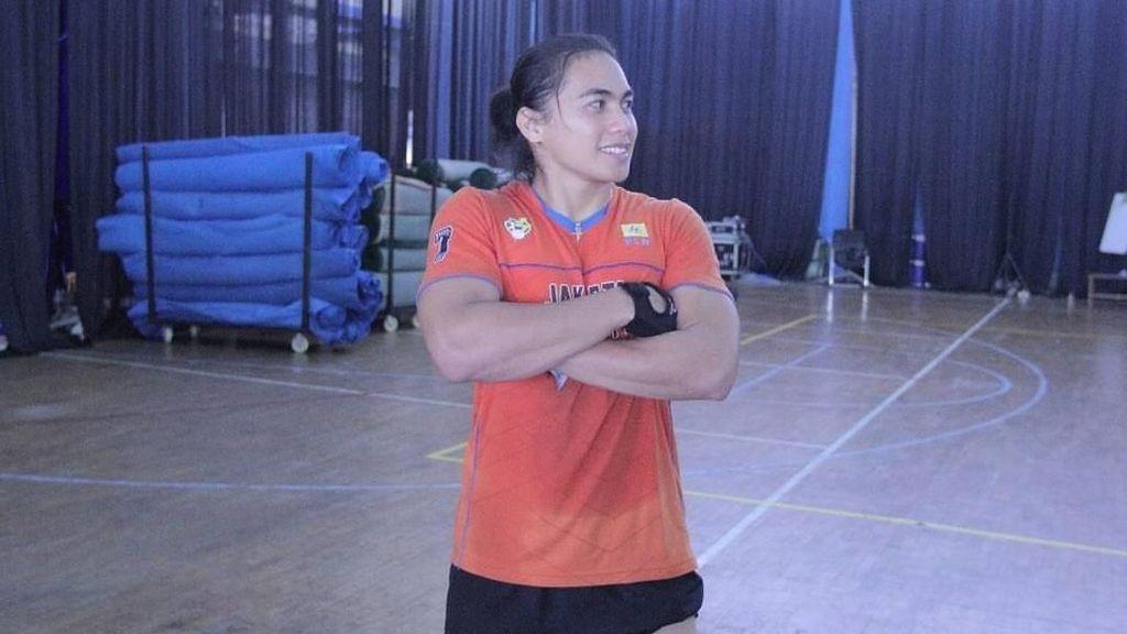 Kekarnya Aprilia Manganang, Atlet Voli Putri yang Viral di Medsos