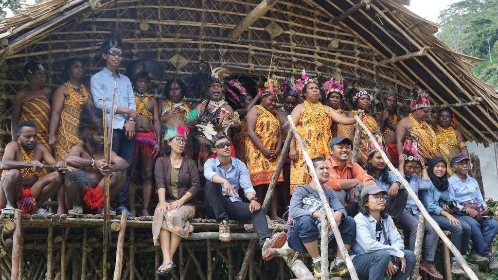 Upaya Mapala UI Gali Potensi Pariwisata Pedalaman Papua Barat