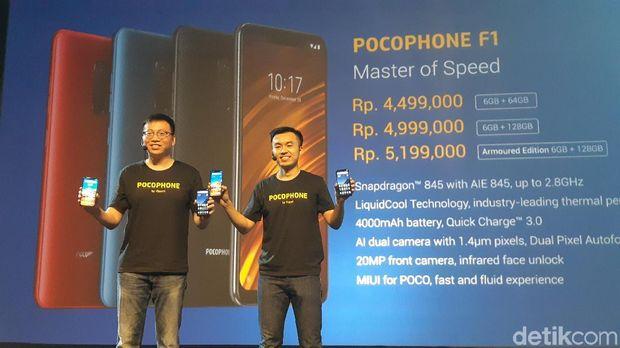 Peluncuran Poco F1 di Indonesia