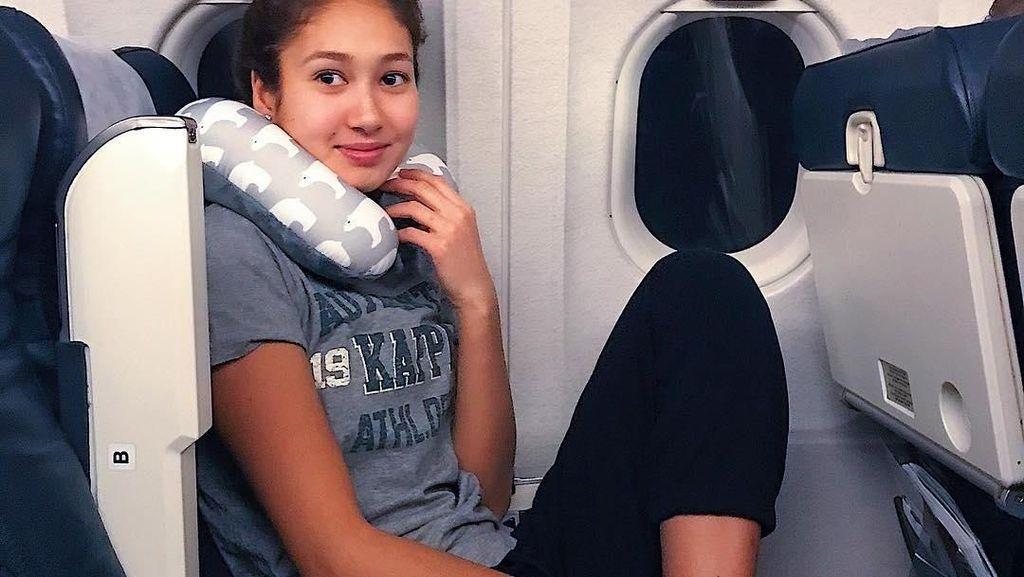 Liburan Si Imut Atlet Polo Air Kazakhstan, Azhar Alibayeva
