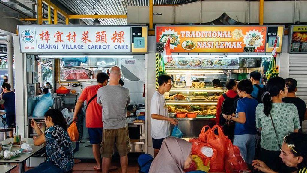 Budaya Makan Kaki Lima di Singapura Akan Dinominasikan ke Unesco