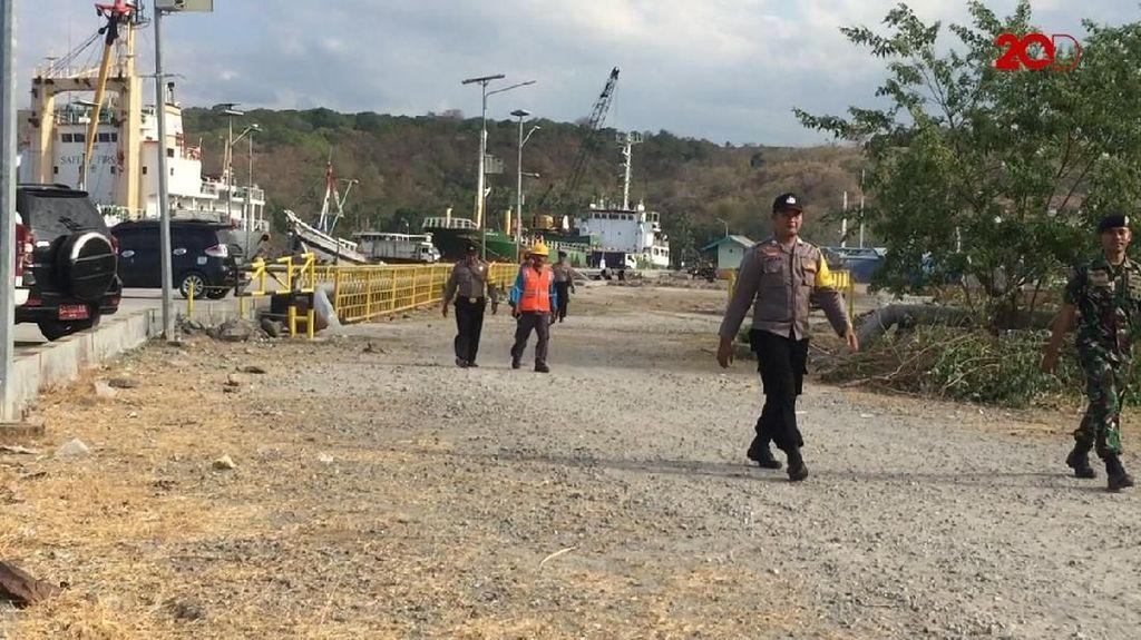 Penampakan Jalan Rusak Menuju Venue Festival Sail Moyo 2018