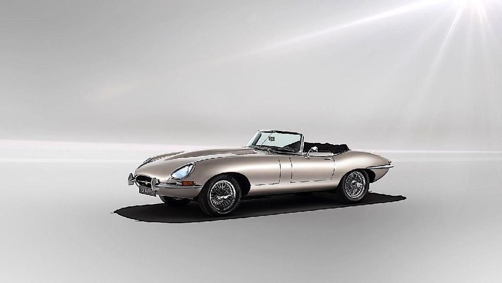 Asyik, Mobil Listrik Tampang Klasik Jaguar Siap Diproduksi