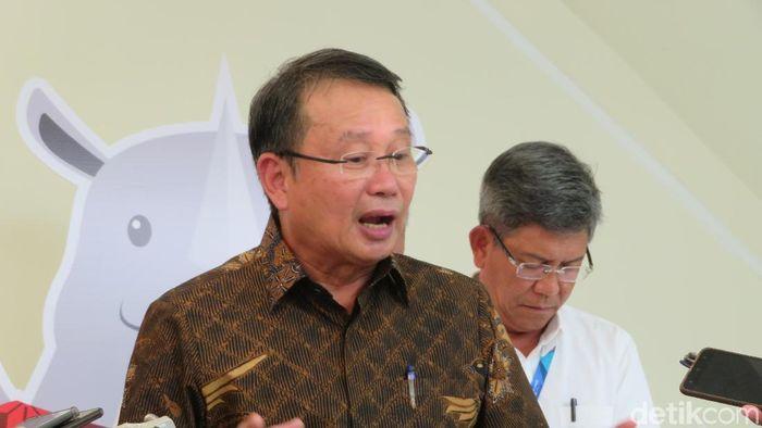 Foto: Kepala BNPB Willem Rampangilei (Noval Dhwinuary Anthony/detikcom)