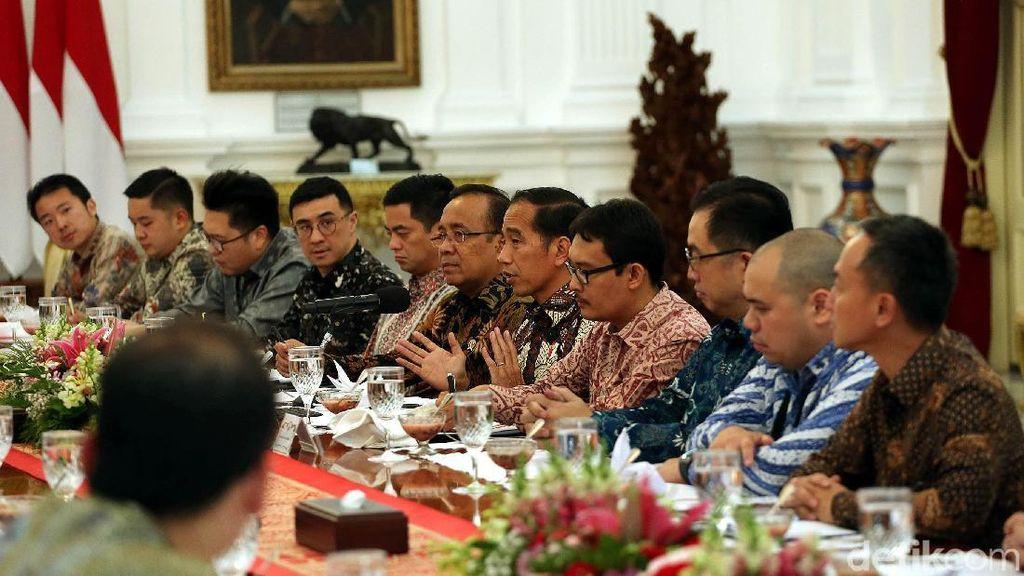 Ini yang Dibahas Jokowi dengan Para Konglomerat Milenial