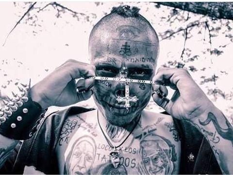 Hiii Serem! Pria Ini Jalani Operasi Ekstrem Demi Wajah Mirip Tengkorak