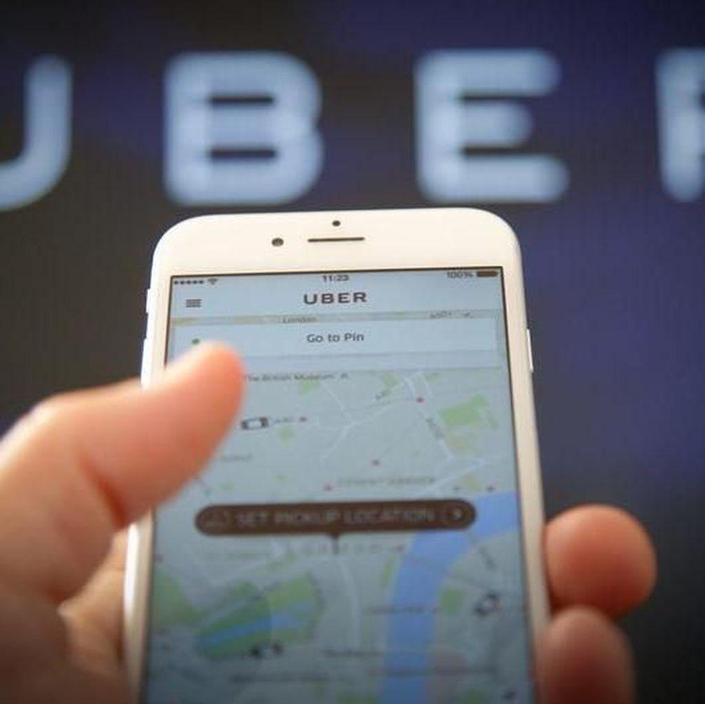 Uber Pede Melantai di Bursa