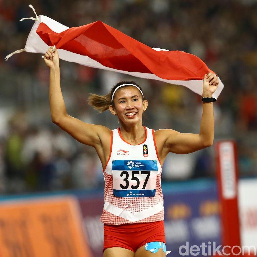Bonus Asian Games Emilia Nova untuk Umrahkan Ibu dan Bikin Kos-kosan