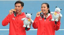 Foto: Liburannya Aldila Sutjiadi, Peraih Emas Tenis Indonesia