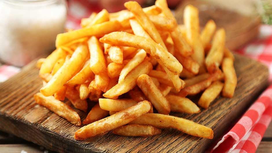 french fries semut