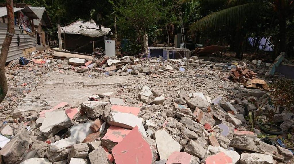 Kerusakan Akibat Gempa di Lombok Capai Rp 10 Triliun