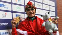 Puspa Arumsari Raih Emas ke-13 Indonesia di Asian Games 2018
