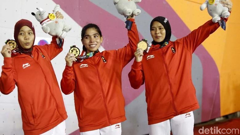 Tambah 10 Emas, Indonesia Naik ke Peringkat Empat Klasemen Asian Games 2018