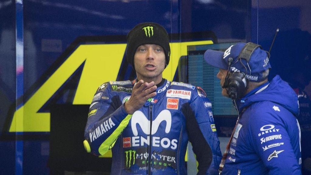 Puasa Kemenangan Berlanjut, Rossi Frustrasi pada Yamaha