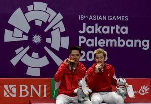 Kevin/Marcus Lanjutkan Tradisi Emas Ganda Putra di Asian Games