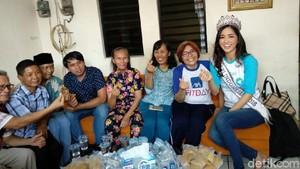 Kunjungi Rumah Singgah Kanker, Puteri Indonesia 2018 Imbau Deteksi Dini