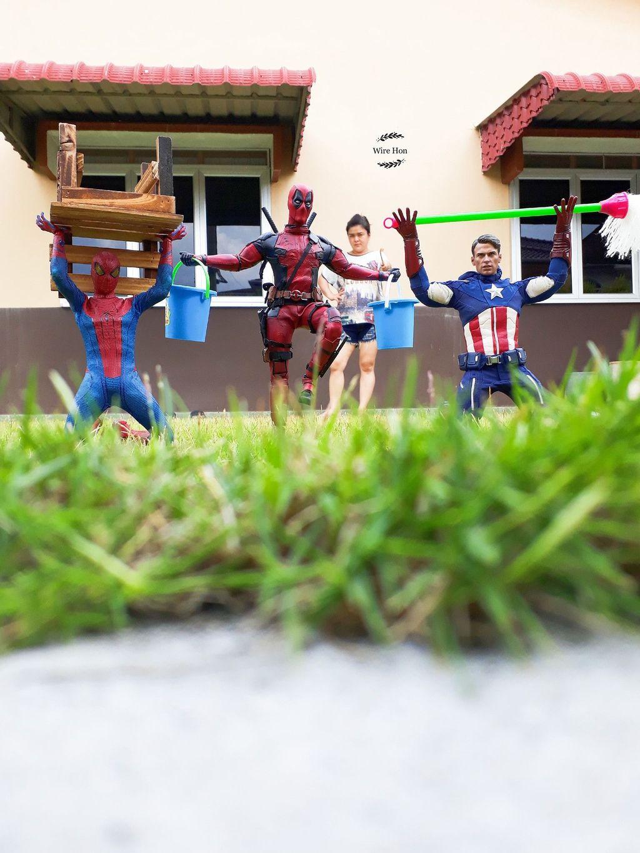 Dia adalah Wire Hon pria asal Pahang, Malaysia. (Foto: Facebook/Wire Hon)