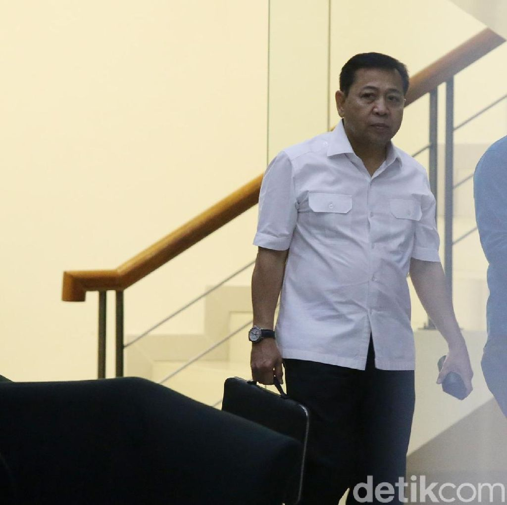 Pelesiran ke Luar Lapas Sukamiskin, Setya Novanto Kelabui Wahid