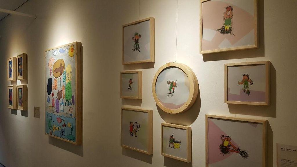 Hasil Karya Seni Anak-anak Berkebutuhan Khusus yang Keren Banget